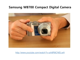samsung wb700 compact digital camera review