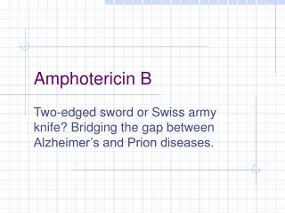Amphotericin B