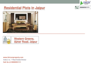Western Greens Jaipur | Call 9999561111