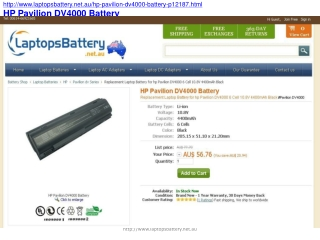 Pros and Cons of Buying an HP Pavilion DV4000 Battery Offlin