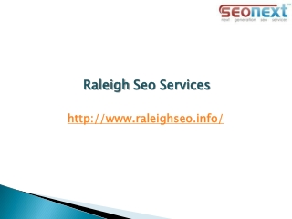 Raleigh Seo