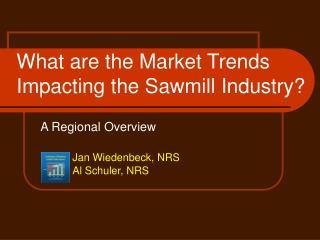 A Regional Overview   Jan Wiedenbeck, NRS  Al Schuler, NRS