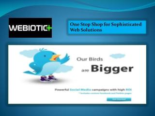 Webiotic Web Solutions