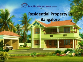 Residential Property in Bangalore, Prestige Ferns Residency