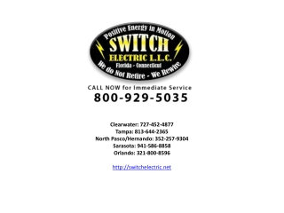 Electrician Clearwater FL