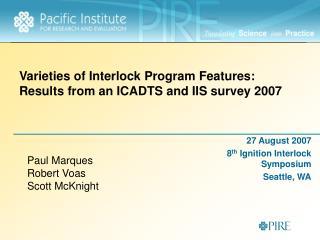 IIS at Beaver Creek Meeting 2006