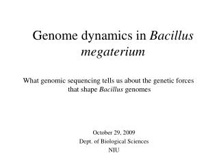 Conclusions about 16S genes