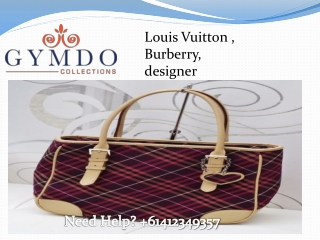 Exquisite Designer Bags and Fashion Accessories Online � Tip