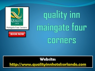 quality inn maingate four corners