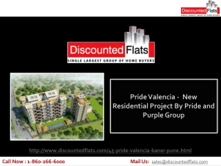 Luxurious 2BHK Apartments For Sale in Baner – Pride Valencia
