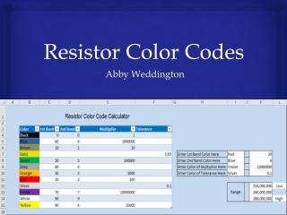 Resistor Powerpoint