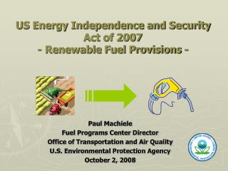 US Energy Independence and Security Act of 2007 - Renewable Fuel Provisions -