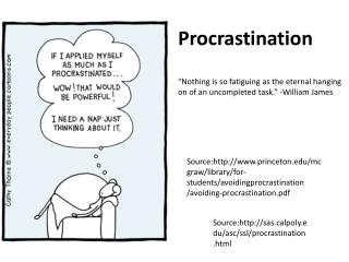 4 Reasons Why People Procrastinate