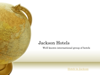 Hotels in jackson