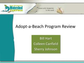 Adopt-a-Beach Program Review