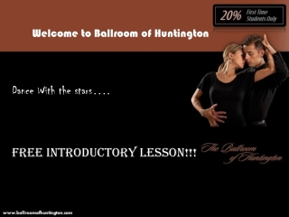 Attend Free Introductory Dance Lessons in Huntington Long Is