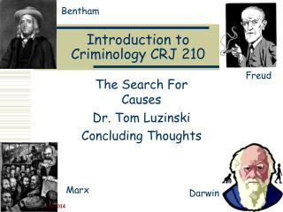Introduction to Criminology CRJ 210