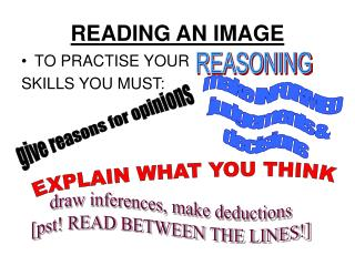READING AN IMAGE