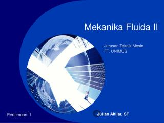 Mekanika Fluida II