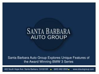 Santa Barbara Auto Group Explores Unique Features of the Awa
