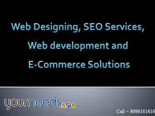 E-Commerce Portal Development USA | Hyderabad SEO Services