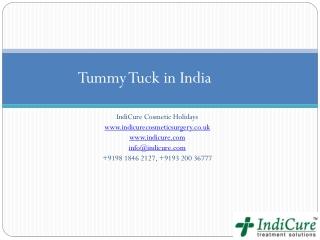 Tummy Tuck in India