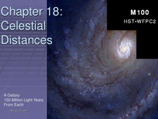 Chapter 18: Celestial Distances