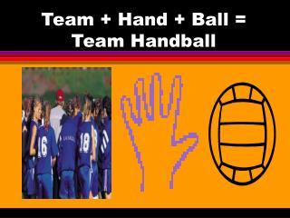 Team  Hand  Ball  Team Handball