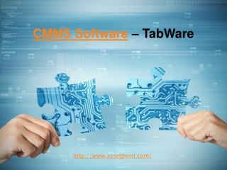 CMMS Software - TabWare