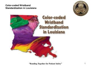 Color-coded Wristband Standardization in Louisiana