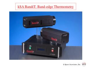 kSA BandiT: Band-edge Thermometry