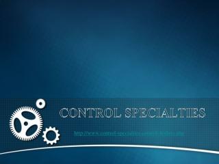 Control Specialties: Industrial Steam Boilers