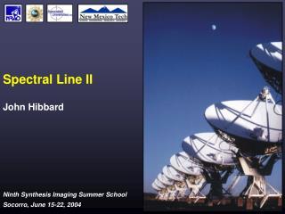 Spectral Line II