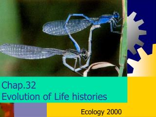 Chap.32 Evolution of Life histories