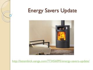Energy Savers Update