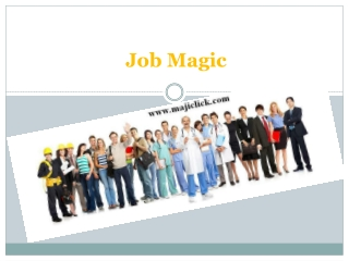 magic job-online job ads