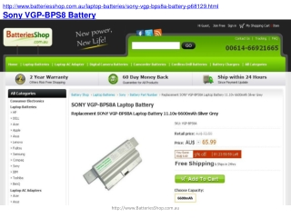 How to Prevent Your Sony VGP-BPS8 Battery from Overheating?