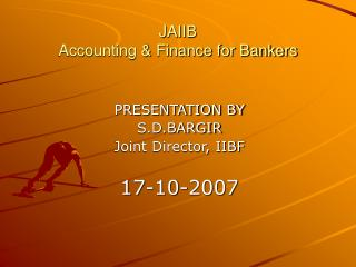 JAIIB Accounting  Finance for Bankers