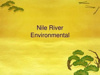 Nile River Environmental