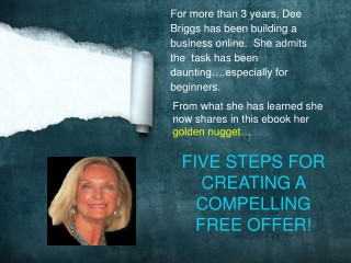 FREE eBook Download to Create a Compelling Offer
