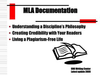 Understanding a Discipline s Philosophy Creating Credibility with Your Readers Living a Plagiarism-Free Life