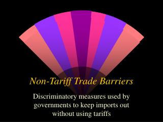 Non-Tariff Trade Barriers