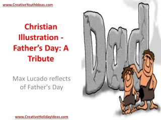 Christian Illustration - Father's Day: A Tribute