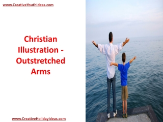 Christian Illustration - Outstretched Arms