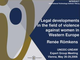 Legal developments in the field of violence against women in ...