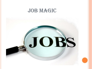 Job  Magic – Online Jobs adds