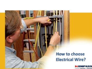 How to choose Electrical Wire?