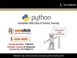 CBSE Computer science Python Tutorial