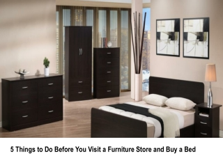 5 Things to Do Before You Visit a Furniture Store and Buy