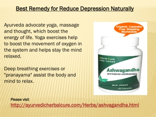 Best Remedy for Reduce Depression Naturally